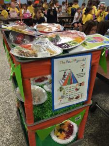 Rainbow Food Cart