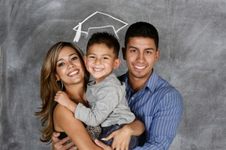 Hispanic Parents w/ Preschool Son