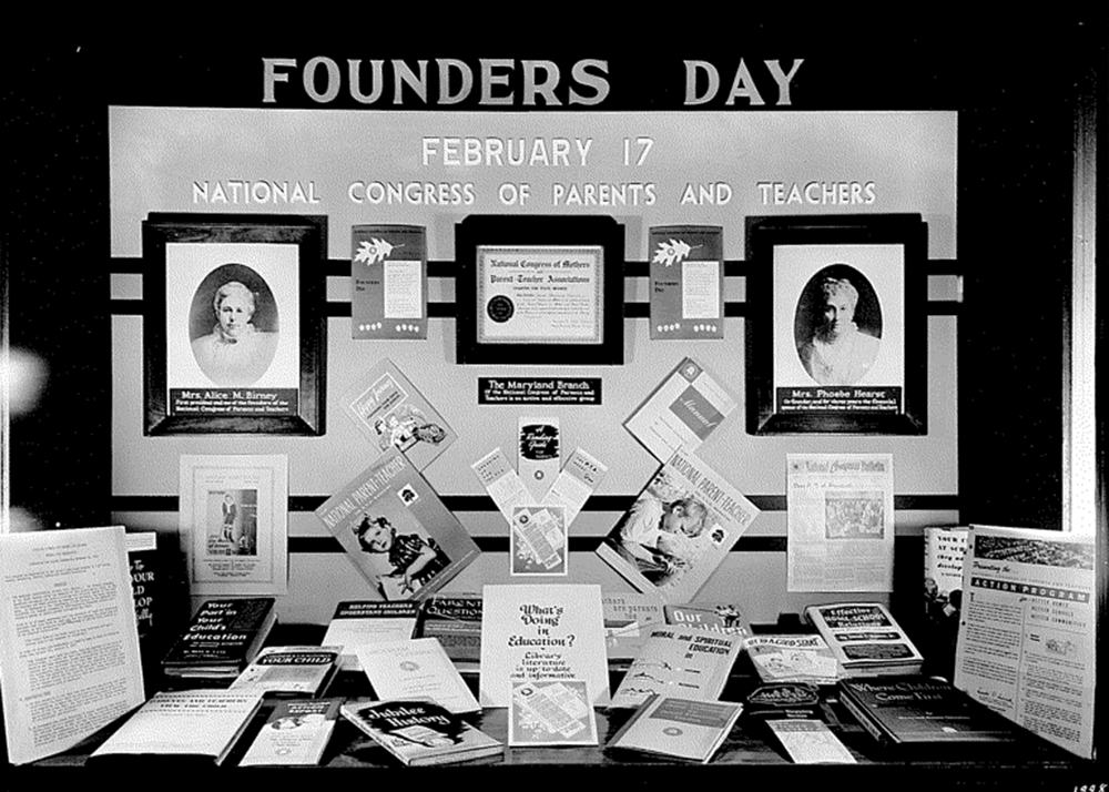 Founders' Day Display