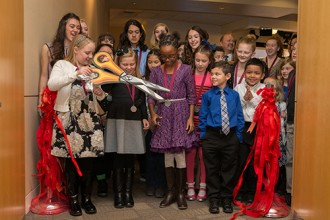 National PTA Reflections winner celebrated at the US Department of Education
