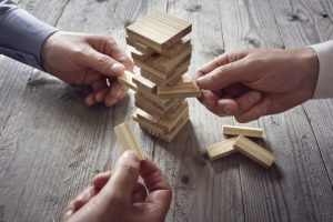 Planning, risk and team strategy in business