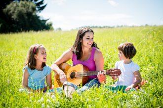 parent-musician-with-children