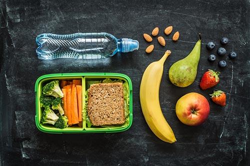 Slate of a healthy school lunch