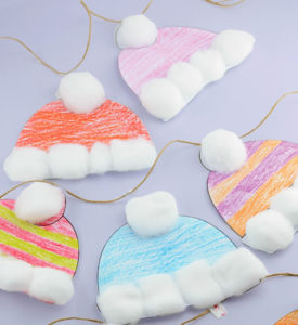 Winter Hat Family Fun Craft