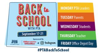 National PTA Back-to-School Week