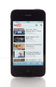 Youtube on Apple iPhone