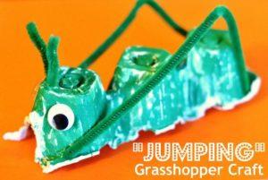 grasshopper easter passover craft